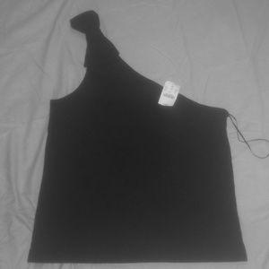 NWT J crew One Shoulder Tank